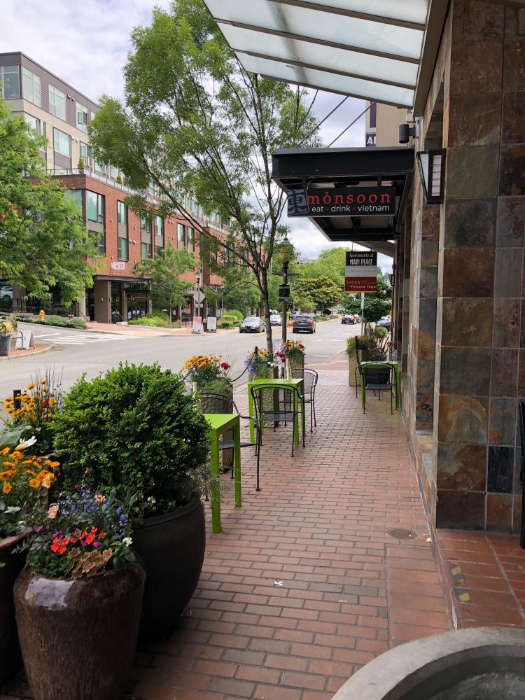 Monsoon restaurant on Old Main St in Bellevue, WA