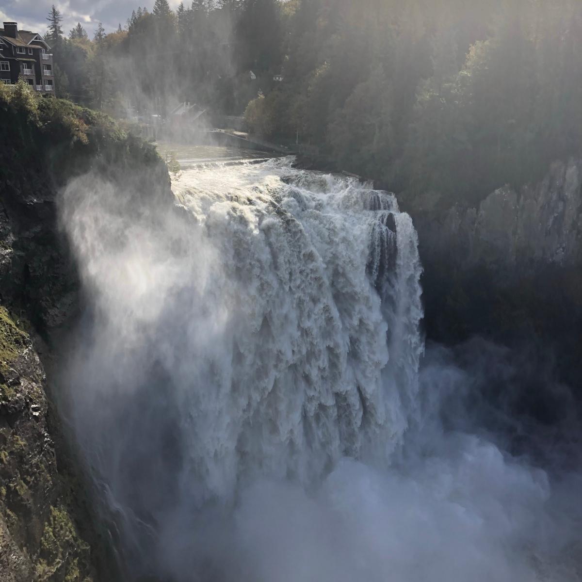 Snoqualmie Falls Water fall in Snoqualmie, WA