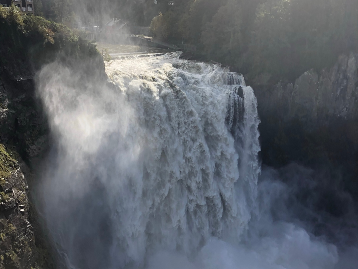 Snoqualmie Falls Water fall in Snoqualmie, WA
